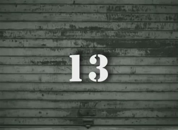 13 sayısının kötü kaderi